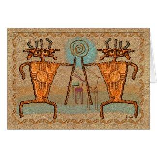 Ancient Hunters card