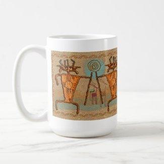 Ancient Hunters mug