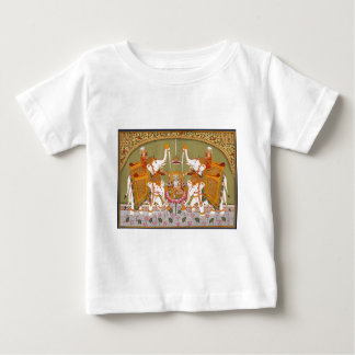 ANCIENT INDIAN PAINTING LORD VISHNU HINDU DEITY BABY T-Shirt