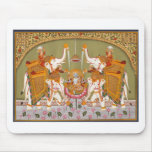 ANCIENT INDIAN PAINTING LORD VISHNU HINDU DEITY MOUSEPAD