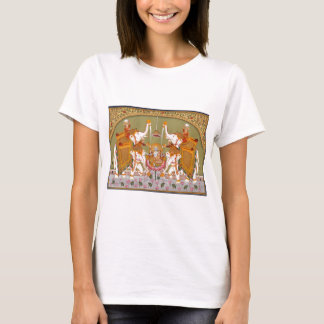 ANCIENT INDIAN PAINTING LORD VISHNU HINDU DEITY T-Shirt