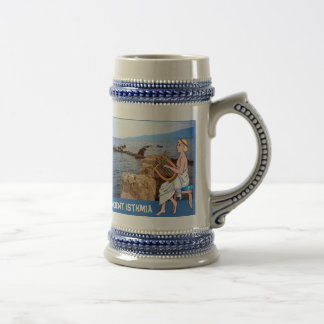 Ancient Isthmia Beer Stein
