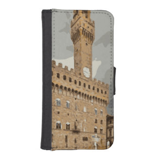 Ancient Italian Churches and Buildings Wallet Phone Case For iPhone SE/5/5s