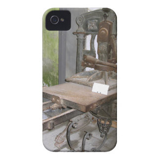 Ancient italian printing press iPhone 4 cover