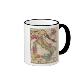 Ancient Italy 4 Ringer Coffee Mug