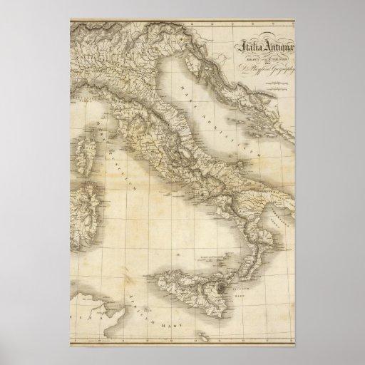 Ancient Italy Print
