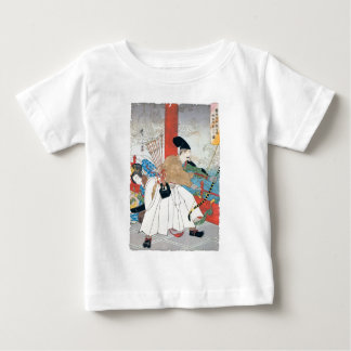 Ancient Japanese Archer Painting Baby T-Shirt