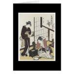 Ancient Japanese Art Card