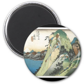 Ancient Japanese Art magnet