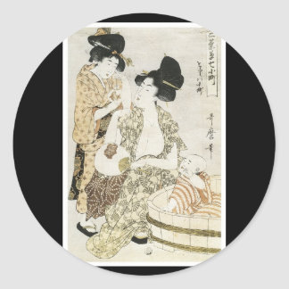Ancient Japanese Art Sticker