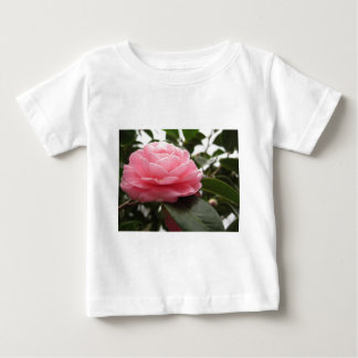 Ancient japanese cultivar of pink Camellia Baby T-Shirt