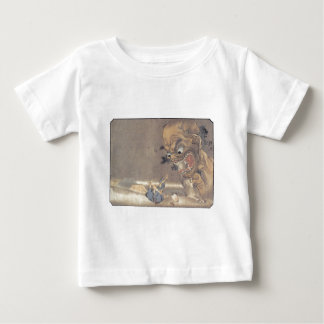 Ancient Japanese Demon Painting Baby T-Shirt