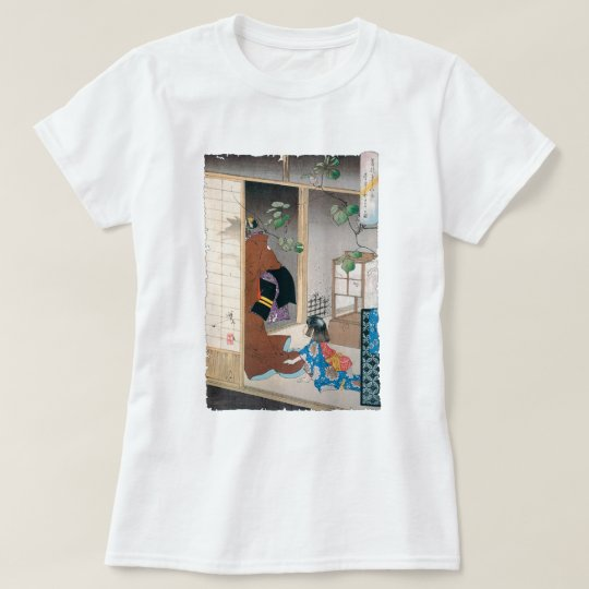 Ancient Japanese Demon Painting T-Shirt