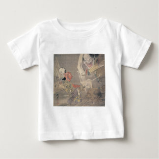 """Ancient """"Japanese Demons"""" Painting Baby T-Shirt"""