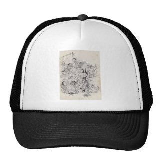 Ancient Japanese Drawing Hat