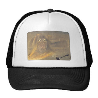 Ancient Japanese Ghost/Demon Painting Trucker Hat