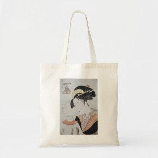 Ancient Japanese Painting circa 1796 Budget Tote Bag