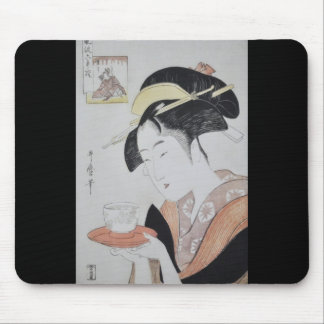 Ancient Japanese Painting circa 1796 Mouse Pad