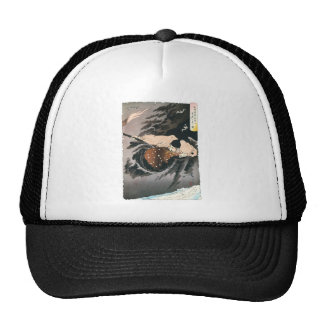 Ancient Japanese Painting Trucker Hats