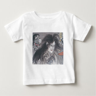 Ancient Japanese Painting of Demons and Ghosts Baby T-Shirt