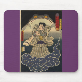 Ancient Japanese Painting of Giant Toad Mouse Pad