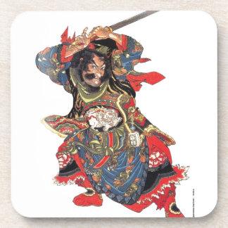 ANCIENT JAPANESE SAMURAI WARRIOR COASTER
