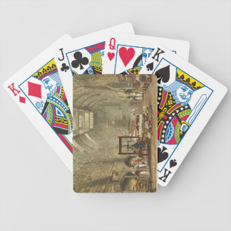 Ancient Kitchen, Windsor Castle, engraved by Willi Bicycle Playing Cards