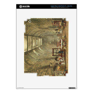 Ancient Kitchen, Windsor Castle, engraved by Willi Skins For iPad 3