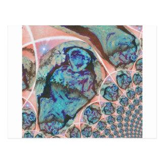 Ancient knowledge 5 fractual postcard