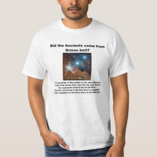 ANCIENT KNOWLEDGE OR COINCIDENCE T-SHIRT