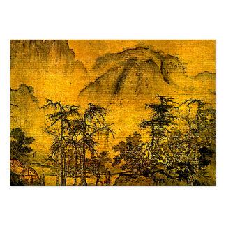 Ancient Landscape ATC Business Card