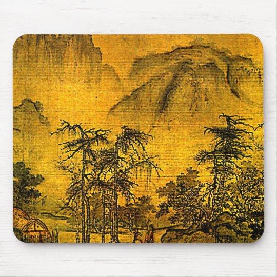 Ancient Landscape Mouse Pad