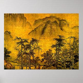 Ancient Landscape Print