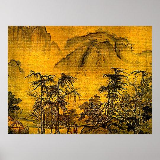 Ancient Landscape Poster