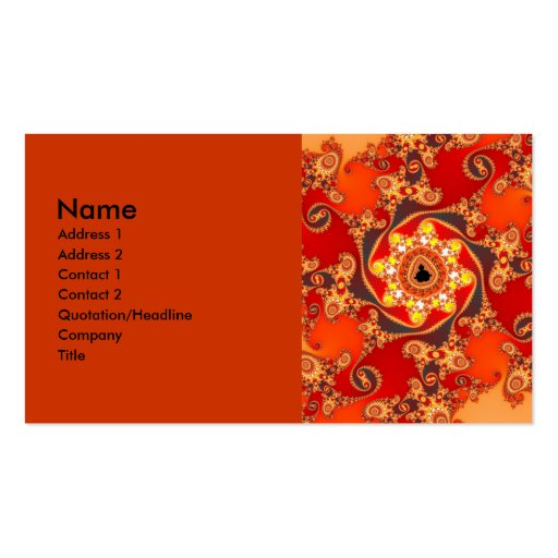 Ancient Legend Business Cards