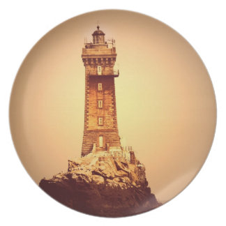 Ancient Lighthouse Plate