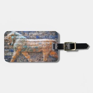 Ancient Lion Luggage Tag
