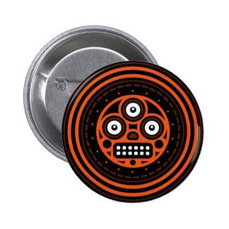 Ancient Locks (3 Eyes) Standard Round Button