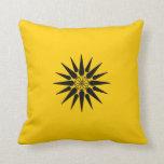 Ancient macedonian royal symbol pillows