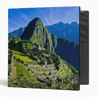 Ancient Machu Picchu, last refuge of the 2 3 Ring Binder