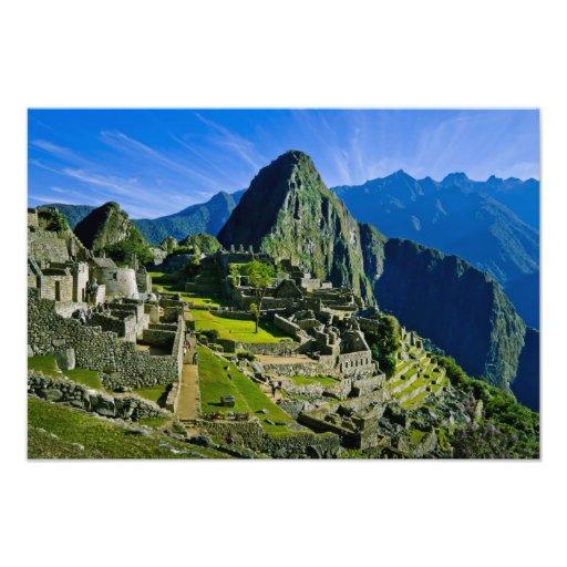 Ancient Machu Picchu, last refuge of the 2 Photo Print