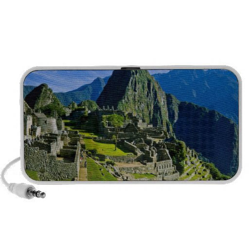 Ancient Machu Picchu, last refuge of the 2 Notebook Speakers