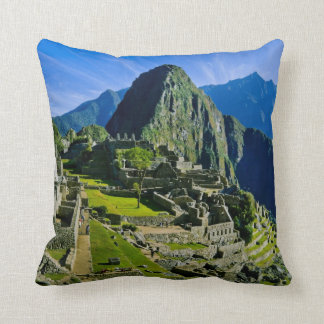 Ancient Machu Picchu, last refuge of the 2 Throw Pillow