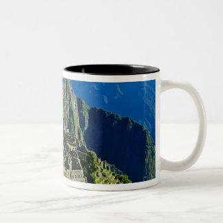 Ancient Machu Picchu, last refuge of the 2 Two-Tone Coffee Mug