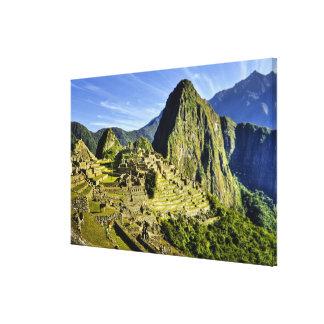 Ancient Machu Picchu, last refuge of the Canvas Print