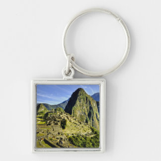 Ancient Machu Picchu, last refuge of the Keychain
