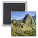 Ancient Machu Picchu, last refuge of the 2 Inch Square Magnet