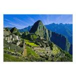 Ancient Machu Picchu, last refuge of the Photo Art