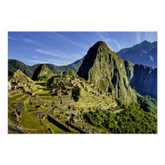 Ancient Machu Picchu, last refuge of the Print