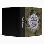 Ancient Magic Pagan Pentacle Vinyl Binder